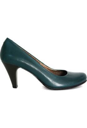 Akl Shoes Haki Topuklu Ayakkabı