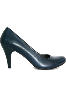 Akl Shoes Lacivert Topuklu Ayakkabı