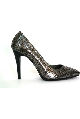Akl Shoes Parlak Deri Stiletto