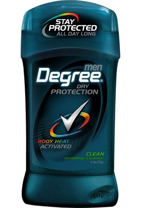 Degree Erkek Antiperspirant & Deodorant Clean 76gr