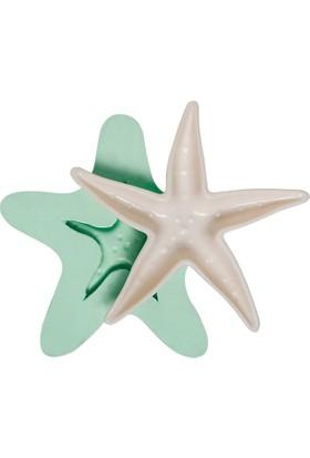 Kurdelya Deniz Yıldızı Tabak Silikon Kalıbı
