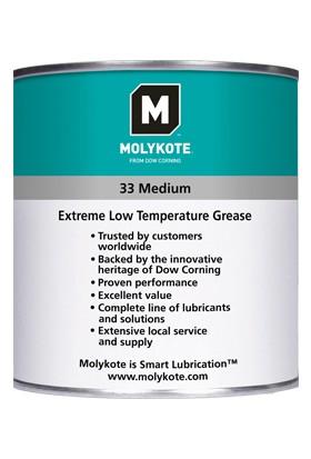 Molykote 33 Medium - Silikon Bazlı Düşük Sıcaklık Gresi 1 kg