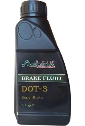 Asbirix Dot 3 - 500 gr Fren Hidrolik Yağı