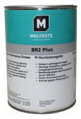 Molykote BR2 Plus - 1 kg Molibdenli EP Siyah Gres