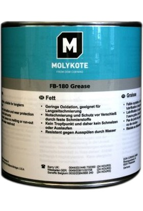Molykote FB 180 Grease - 1 Kg Damlamaz Gres