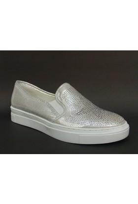 Baba 171100 Gümüş Taşlı Vans Çocuk Ayakkabısı