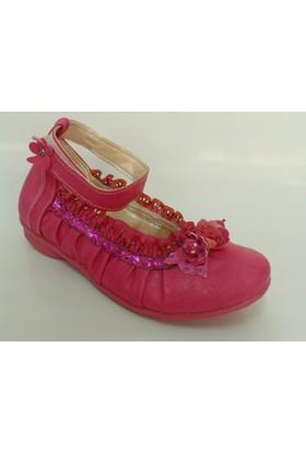 Punto Pembe Kız Çocuk Babet Ayakkabı
