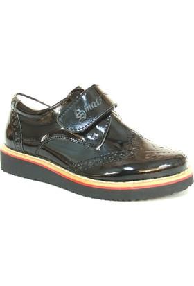 Pınar Bebe Siyah Cırtlı Erkek Çocuk Ayakkabı