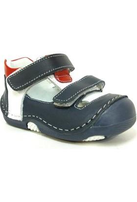 Black Tavern 1110 Lacivert Kırmızı Ortopedik İlkadım Ayakkabı
