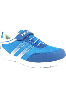 Projack 5004 Mavi Beyaz Çocuk Spor Ayakkabı