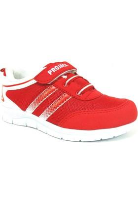 Projack 5004 Kırmızı Beyaz Çocuk Spor Ayakkabı