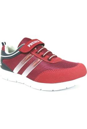 Projack 5004 Bordo Lacivert Çocuk Spor Ayakkabı