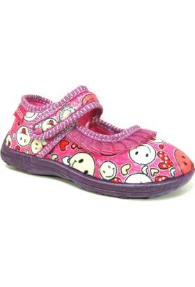 Gezer 2234 Pembe Mor Anatomik Kız Çocuk Ayakkabı