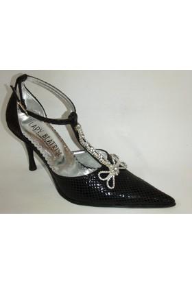 Lady Beatrise Siyah Bayan Abiye Ayakkabı