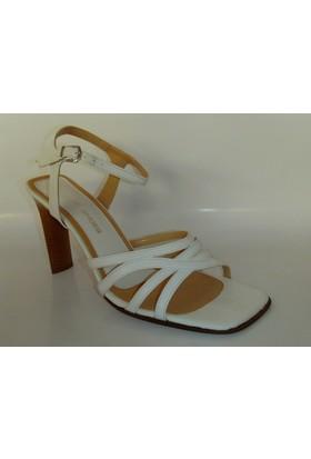 Denis Shoes Beyaz Renk Abiye Ayakkabı