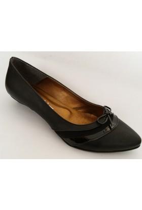 Arıcı Siyah Bayan Babet Ayakkabı