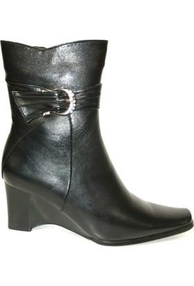 Muya 13154 Siyah Bayan Çizme
