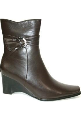 Muya 13154 Kahverengi Bayan Çizme