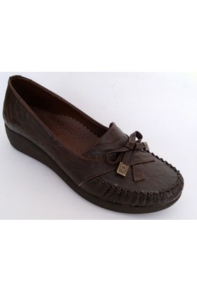 Punto Kahverengi Bayan Ayakkabı