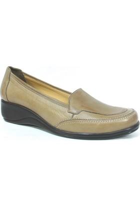 Elçin Camel Bayan Ortopedik Ayakkabı