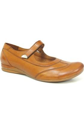 Elçin 106 Taba Ortopedik Bayan Ayakkabı