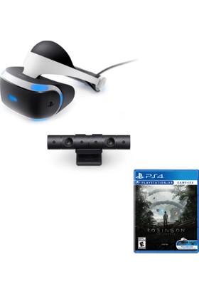 Sony PlayStation 4 VR Sanal Gerçeklik Gözlüğü + Ps4 Kamera + Robinson : The Journey