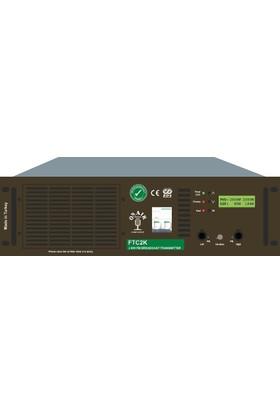 OnAir FTC2K 2KW FM Kompakt Verici