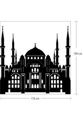 Sultan Ahmet Cami Kadife Duvar Sticker 109X113 Cm