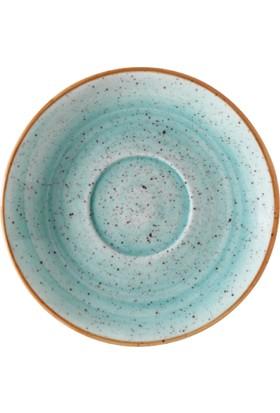 İkram Dünyası Bonna Aqua Gourmet Kahve Fincan Tabağı 13 cm