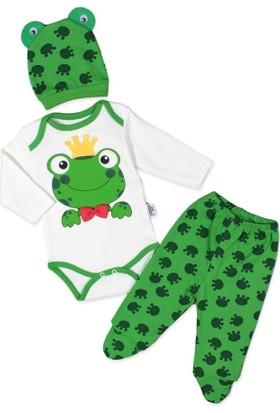 Bebbeg Yeşil Kurbağa 3'lü Takım