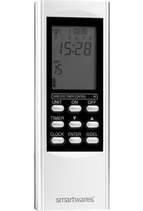 Smartwares Akıllı Ev İç Mekan 15 Kanallı Uzaktan Kumanda + Zamanlayıcı Fonksiyonu-Sinyal İletici 10.037.30