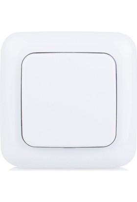 Smartwares Akıllı Ev Kablosuz Duvar Anahtarı İç Mekan-Sinyal İletici 10.037.12