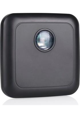 Smartwares Akıllı Ev Dış Mekan Kablosuz Pilli Gündüz/Gece Sensörü Siyah-Sinyal İletici 10.037.32
