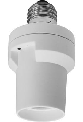 Smartwares Akıllı Ev İç Mekan E27 Armatür Aç/Kapa Dimmerli 60W'a kadar - Sinyal Alıcı 10.037.22