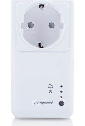 Smartwares Akıllı Ev İç Mekan Kontrol Ünitesi Wifi Priz– Sinyal İletici 10.043.79
