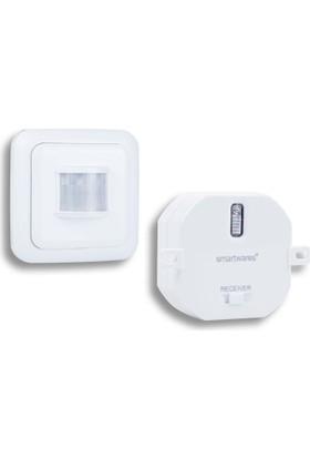 Smartwares Akıllı Ev İç Mekan Hareket Sensörü ve Yerleştirmeli Priz 10.043.96