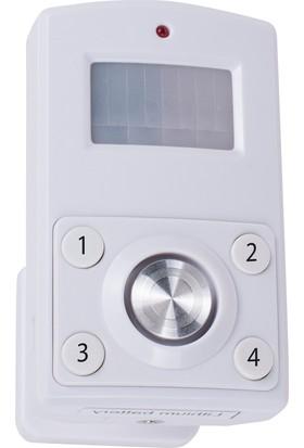 Smartwares Alarm Fonksiyonlu Hareket Sensörü Pin kodu ile devreye sokma/çıkarma 10.023.33