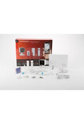 Smartwares Kablosuz Mobil Uygulamalı Alarm Sistemi Kamera dahil 5 parça 10.023.79
