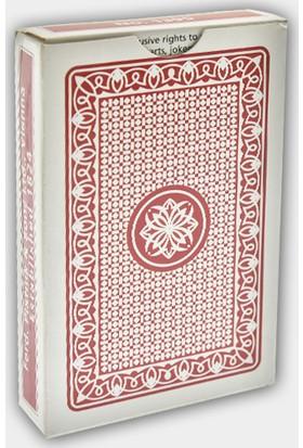 Piatnik Oyun Kağıdı Kırmızı