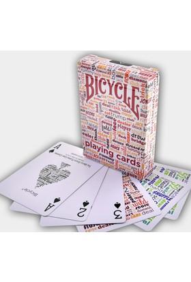Bicycle Table Talk Kırmızı Oyun Kağıdı