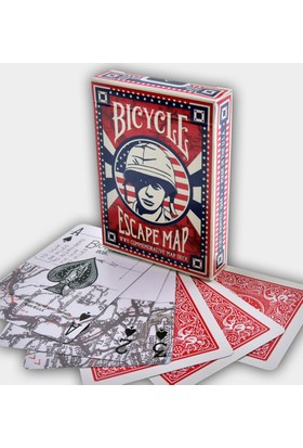 Bicycle Escape Map Oyun Kağıdı