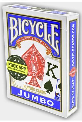 Bicycle Jumbo Oyun Kağıdı Mavi