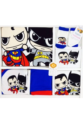Donino Baby Süpermen Batman 10 Lu Set