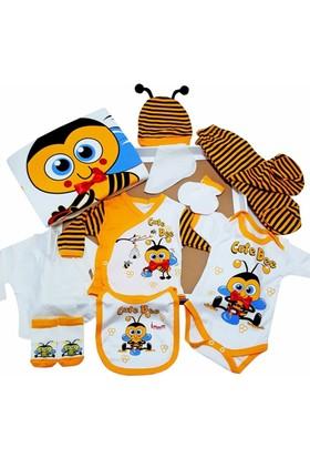 Donino Baby Arı Baskılı 10 Lu Set