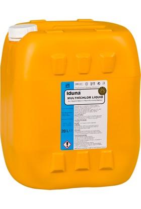 Iduna Multi Chlor Liquid Sıvı Hijyenik Sebze ve Meyve Durulama Ürünü 5 Lt