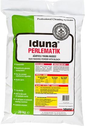 Iduna Perle Matik Ağartıcılı Toz Ana Yıkama Ürünü 20 kg