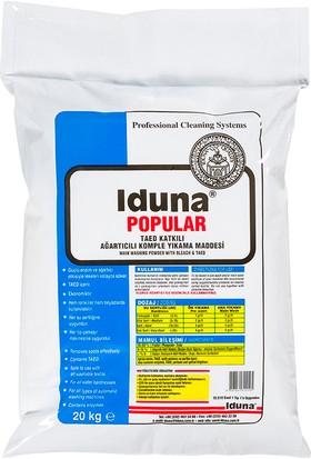 Iduna Popular Taed Katkılı Ağartılıcı Toz Ana Yıkama Ürünü 20 kg