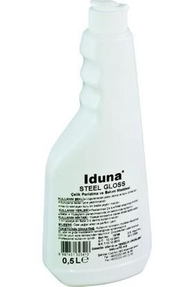 Iduna Steel Gloss Çelik Parlatma ve Bakım Ürünü 500Ml