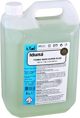 Iduna Turbo Rens Süper Plus Ağır Kir Yağ ve Cila Sökücü 5 Lt