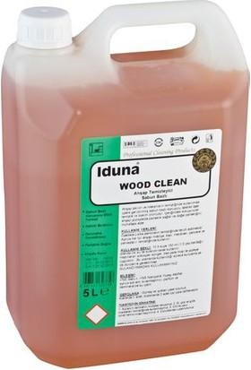 Iduna Wood Clean Sabun Bazlı Ahşap Temizleme Ürünü 5 Lt